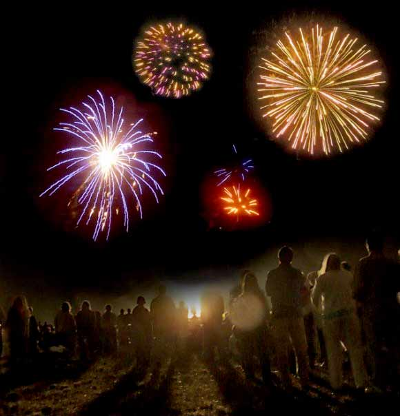 Cypress Villages fourth of july fireworks event